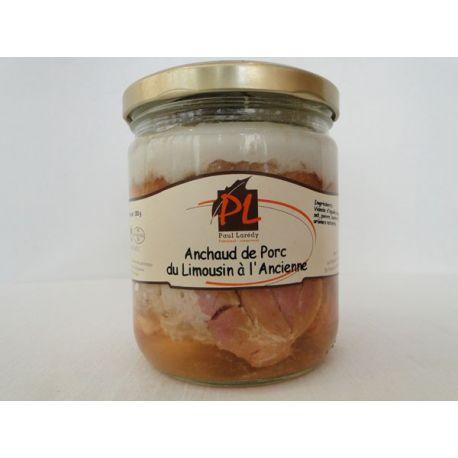 Anchaud de porc du Limousin à l'ancienne